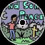 Find Some Peace by Husky Dog