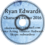 Ryan Edwards Character Demo 2016