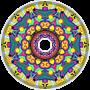 Florescent Mandala