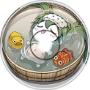 hatsune miku taking a bath vs the devil!